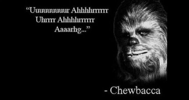 Chewbacca Quotes Porque Soy Más Cuadro Que Marco